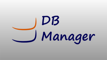 DBManager is finally part of our portfolio!